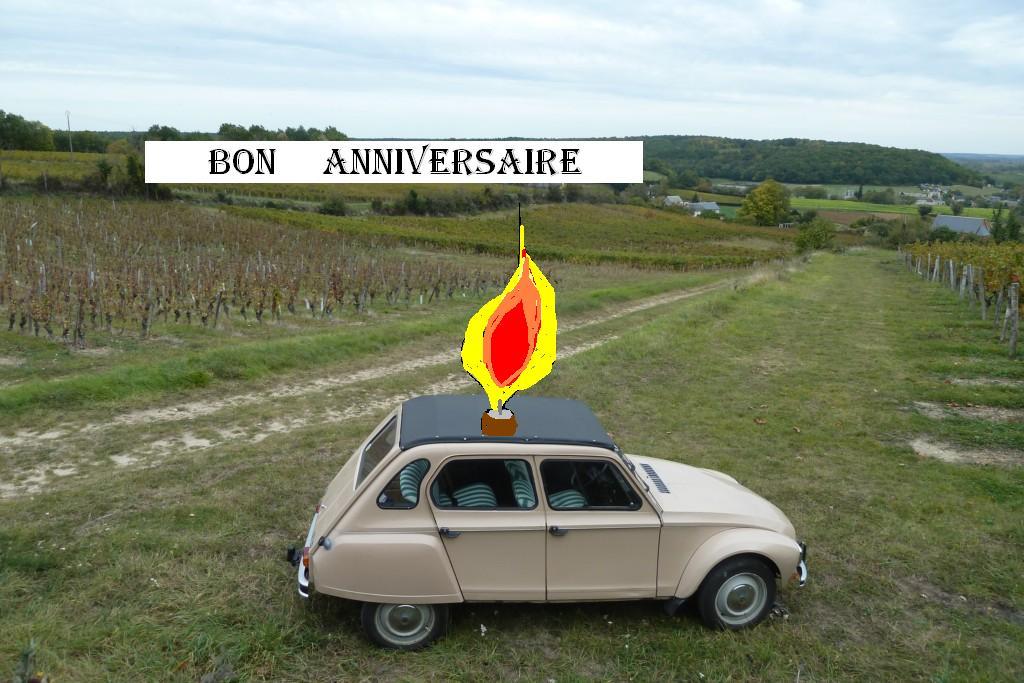 Forum Du Citroen Dyane Club De France Joyeux Anniversaire Daniel