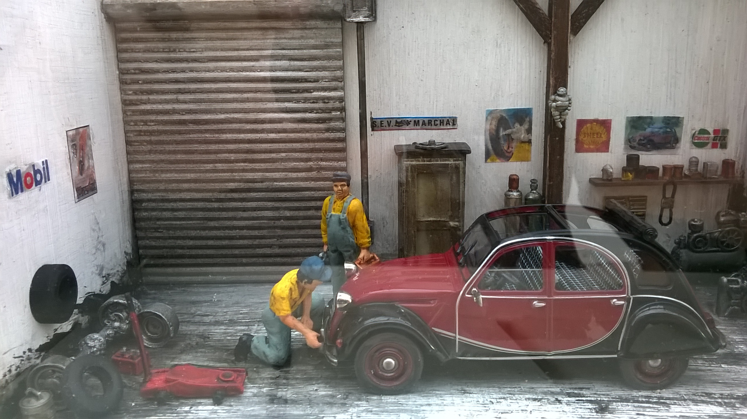 Forum du citro n dyane club de france dyane 6 beige for Garage claude jean avignon